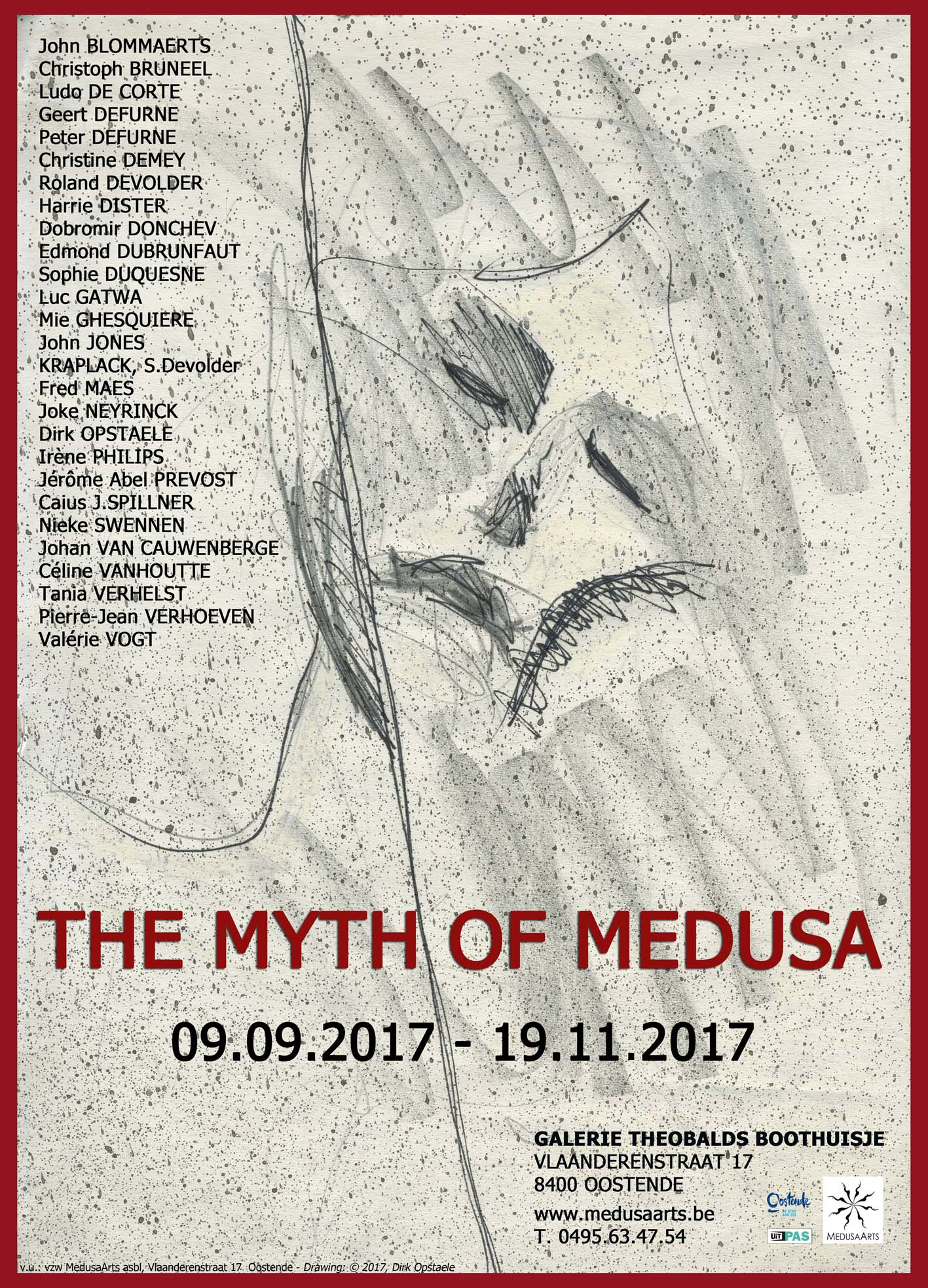 Affiche expo THE MYTH OF MEDUSA