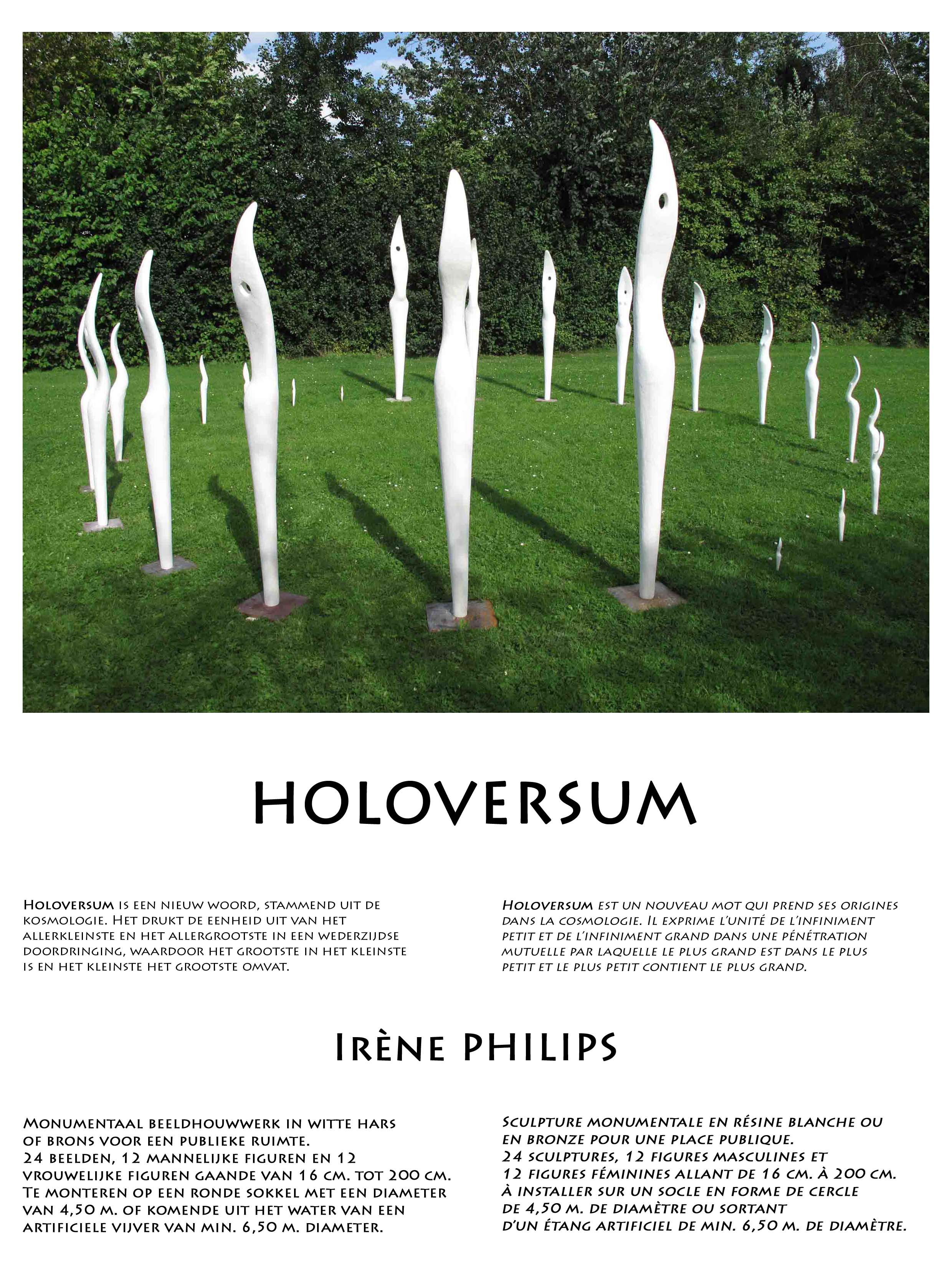 HOLOVERSUM, Irène PHILIPS